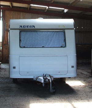 Caravan Storage undercover and Boat Storeage in Anglesey, store your caravan on site in Anglesey